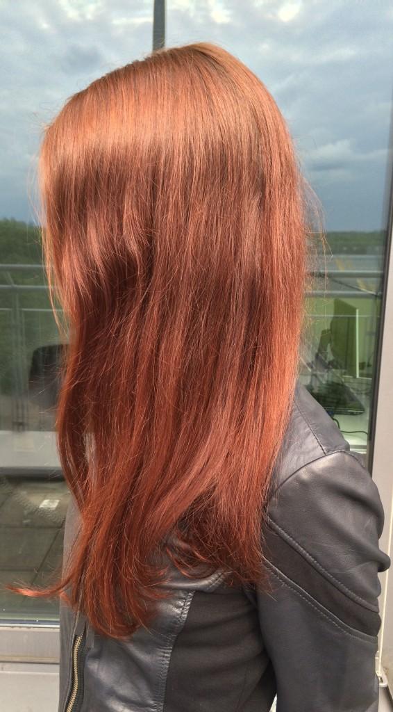 Ergebnis des Haarpflege-Tags
