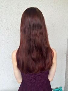 Ergebnis der Babydream Haarpflege