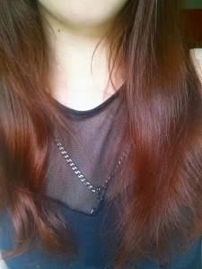 Haare nach der Honigmaske