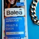 Balea Feuchtigkeits Aufbaukur Pfirsich Cocos