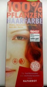 Henna Haarfarbe von Sante
