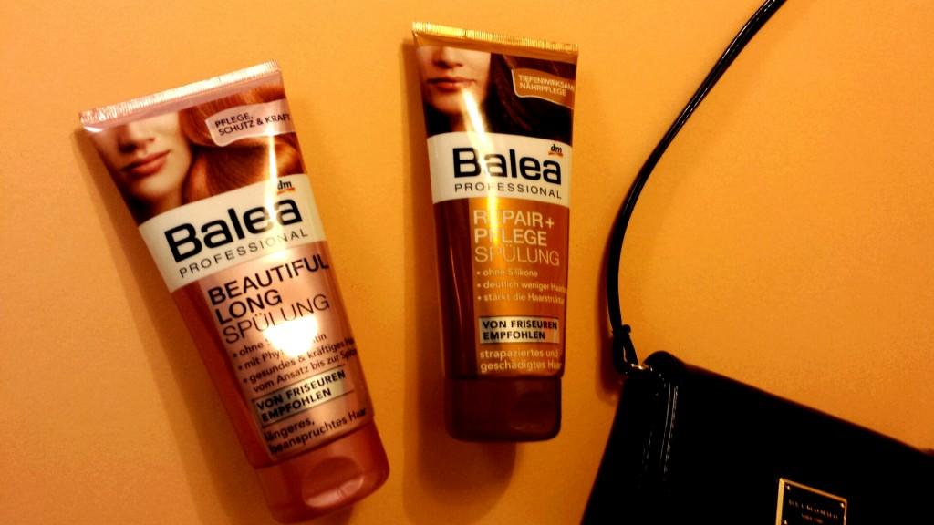 Balea Haarpflege - proteinhaltige Spüllungen