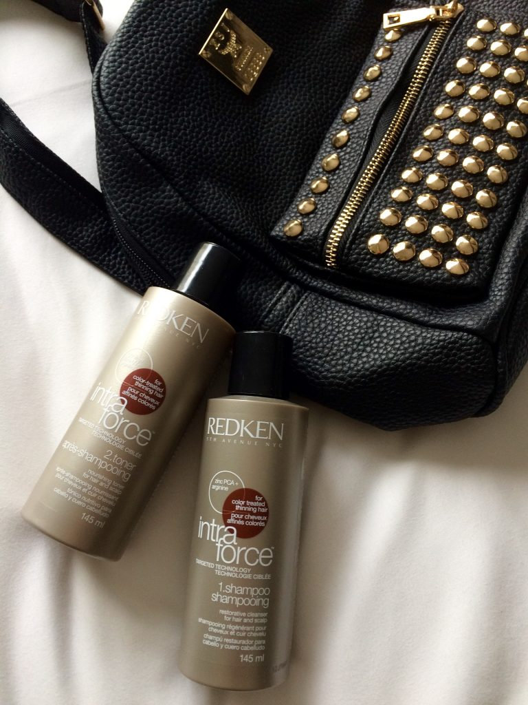 Redken Intra Force - Shampoo und Toner