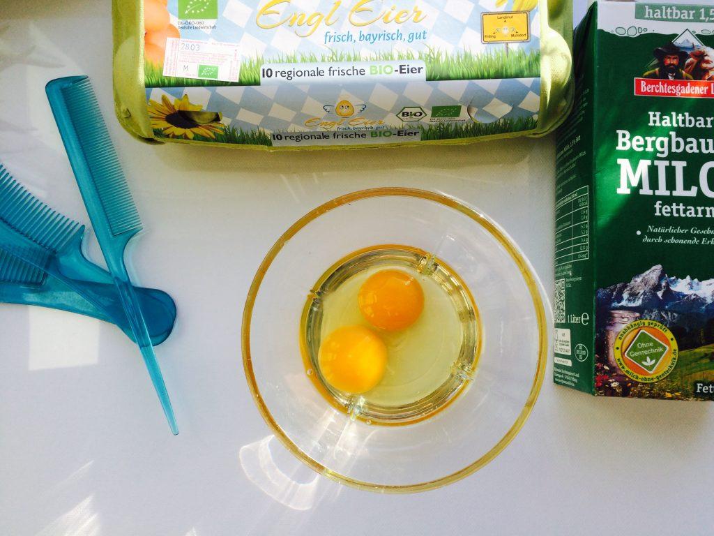 Hühnereier - beste Quelle für Proteine / Keratin