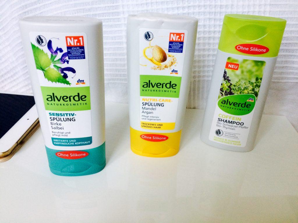 Haarpflege im Winter - Alverde Spülungen und Shampoo