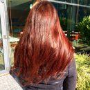 Haarvergleich nach 6 Monaten