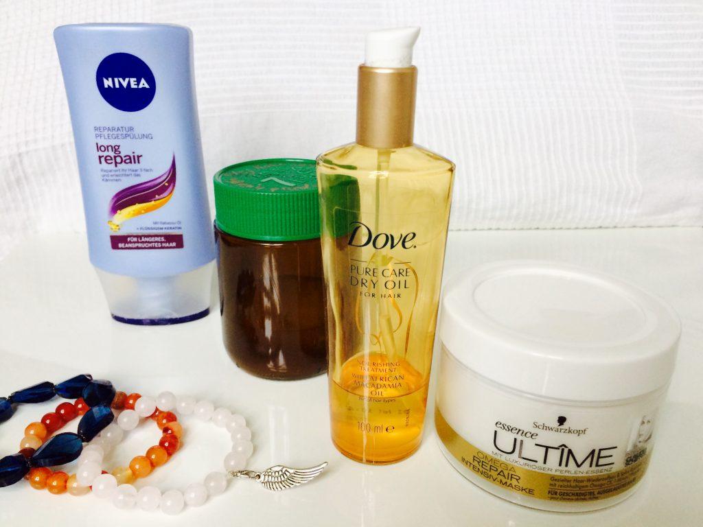 Haarpflege-Plan - die Produkte