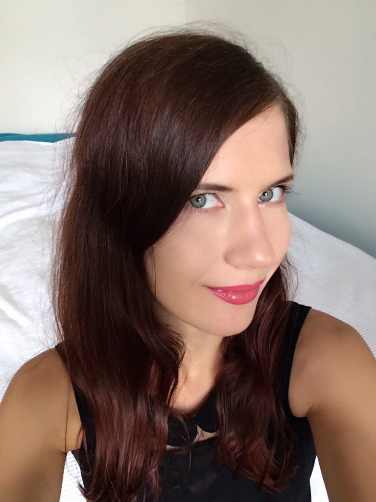 Qualilux Haarglätter Mini Glätteisen - vor der Nutzung