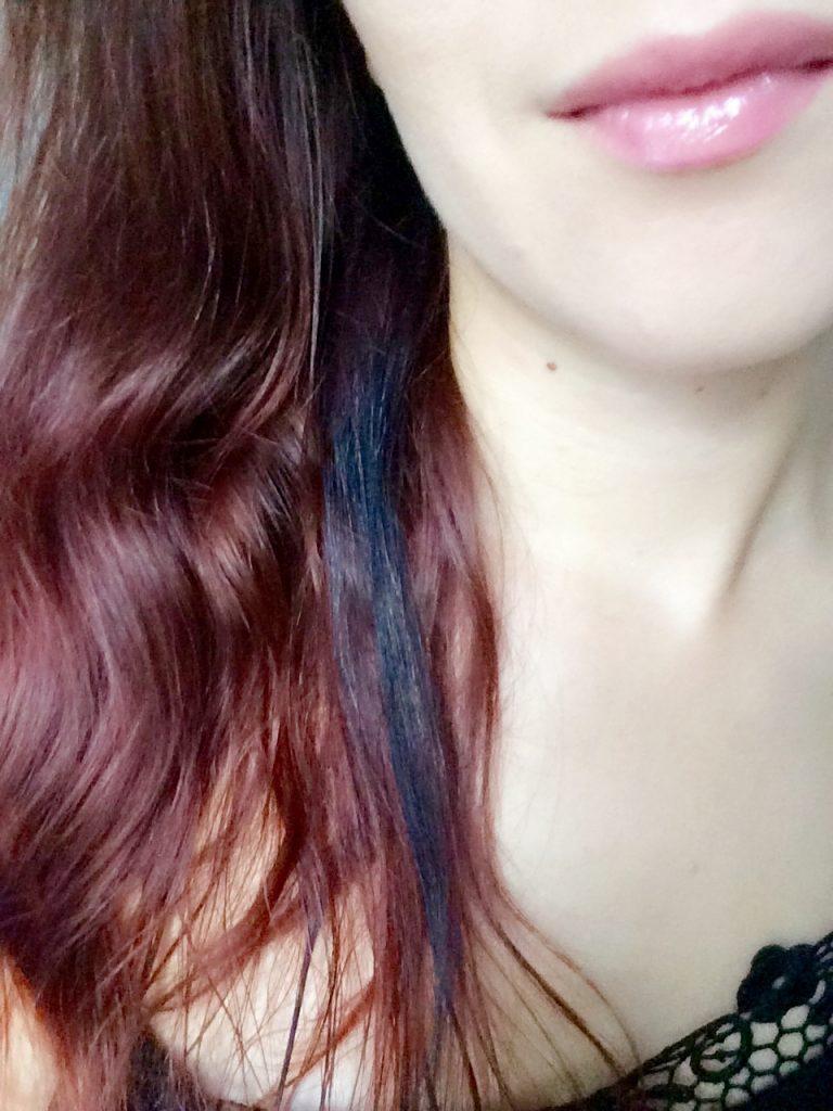 Henna überfärben - im Ergebnis schwarz statt violett